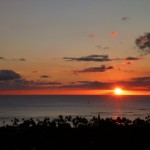 Sunset in Waikiki