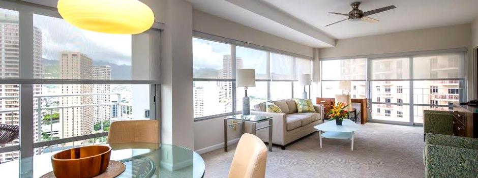Ilikai Suites living room
